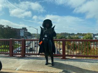 Scary Lady in Salem